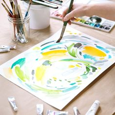 DIY Beginning Watercolor Tutorial