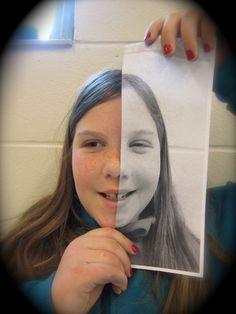 fourth grade portraits