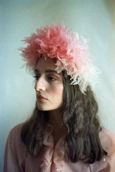 Pastel Party, Pastel Flowers, Wedding Hats, Pink Parties, Pretty Pastel, Floral Crown, Wedding Looks, Bridal Headpieces, Here Comes The Bride