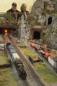 Smoky Mountain Trains, a Bryson City, NC museum dedicated to model railroading… Train Ho, Bryson City Nc, Train Miniature, Escala Ho, Garden Railroad, Model Training, Rail Car, Ho Trains, Model Train Layouts