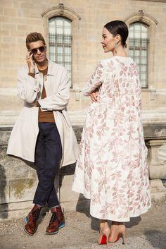 ulyana sergeenko with frol burimskiy Alternative Mode, Alternative Fashion, Royal Fashion, Love Fashion, Womens Fashion, Modest Fashion, Hijab Fashion, Fashion Outfits, Winter Dresses