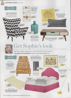 Ideal Home magazine features our collaboration with Content by Conran...