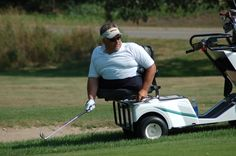 The true heart of a man who loves to play golf!!