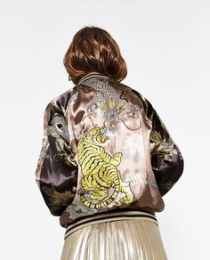LIMITED EDITION BOMBER JACKET-View all-OUTERWEAR-WOMAN   ZARA United States
