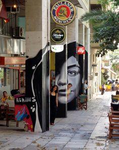 """Artist: Achilles """"anamorphic graffiti"""""""