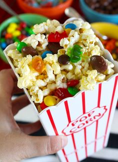 Popcorn with Candy