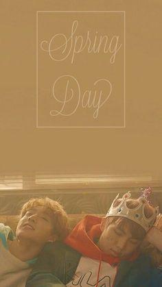 Bts Spring Day Teaser Wallpaper #BTS #spring #day #wallpaper