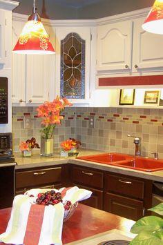 Kitchen redesign using @FrogTape #interiordesign http://earnyourstripescontest.com/