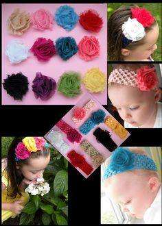 Shabby clips three dollars each  over thirty colors