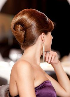 Accent your French twist up do
