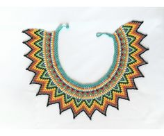 Chaquira Pattern, Fashion Necklace, Necklaces, Feminine, Patterns, Model, Swatch