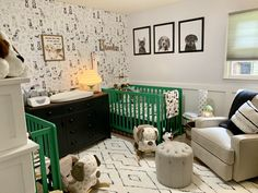 Twin Nursery Gender Neutral, Nursery Twins, Lincoln, Table, Room, Furniture, Home Decor, Bedroom, Decoration Home