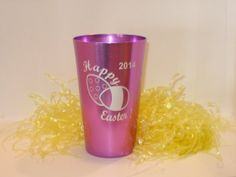 Personalized Easter Tumbler Aluminum engraved by MLSLaserEngraving, $10.00