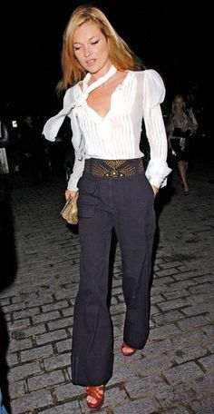 Kate Moss in Chanel and Marc Jacobs, 2007 - 200 Celebrity Looks We Love - Fashion - InStyle.com