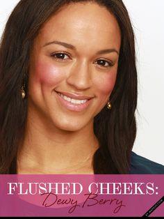 flushed cheeks - Makeup Tutorial