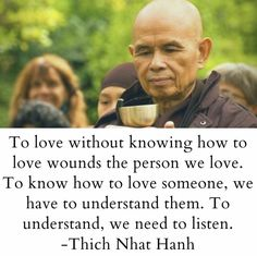 Buddhist Quotes, Thich Nhat Hanh, American Quotes, Buddha Quote, Thinking Skills, Mindfulness Meditation, Loving Someone, Thought Provoking, Self Improvement