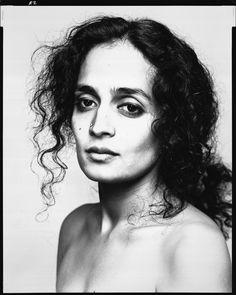 Richard Avedon • Arundhati Roy, novelist | New York, May 12, 1998