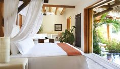 Viceroy Zihuatanejo: Airy Lagoon Suites start at 700 square feet and all have private plunge pools.