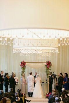 Gorgeous Jewish Wedding Ceremony {Erin Johnson Photography} - mazelmoments.com