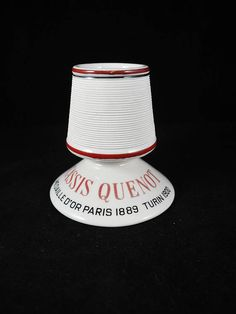 Antique Cassis Quenot French Pyrogen