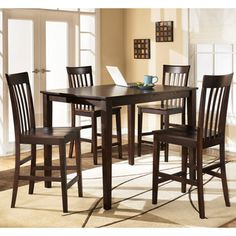 Hyland Counter Table Set - Overstock™ Shopping - Big Discounts on Signature Design by Ashley Dining Sets
