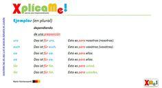 """Lección #64 """"Pronombres personales en acusativo"""".. Mas material haciendo clic: www.xplicame.com"""