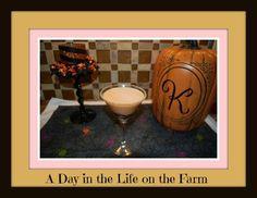 A Day in the Life on the Farm: Pumpkin Pie Martini--#Pumpkin Week