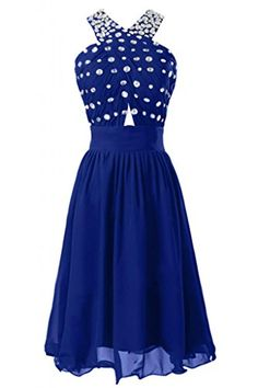 Sunvary Sexy Rhinestone Knee Length Cocktail Club Evening Dresses Prom Pageant Gowns Chiffon- US Size 10- Royal Blue Sunvary http://www.amazon.com/dp/B00FIJ3ICK/ref=cm_sw_r_pi_dp_umZ.ub09QMQZD