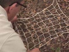 How To Make Your Own Fishing Net by VideoJug lots more how to