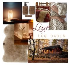 """""""Luxe log cabin"""" by emily-louise-webberley on Polyvore featuring interior, interiors, interior design, home, home decor, interior decorating and UGG"""