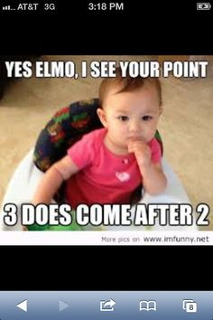 Check out: Baby Memes - I see your point. One of our funny daily memes selection. We add new funny memes everyday! Bookmark us today and enjoy some slapstick entertainment! Funniest Pictures Ever, Funny Baby Pictures, Funny Babies, Funny Kids, Fun Funny, Funny Toddler, Really Funny Memes, Funny Work, Adorable Babies