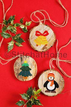 Kerst-ornament   borduren editie 67-2019
