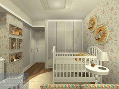 Cantinho preparado com carinho para receber o novo membro da família. Projeto em 3D do dormitório do bebê, para melhor visualização do cliente.  Projeto #filomenaevaz  #dormitoriobebe #cantinhodobebe #design #decoracao @irisffsilva @liminhavaz