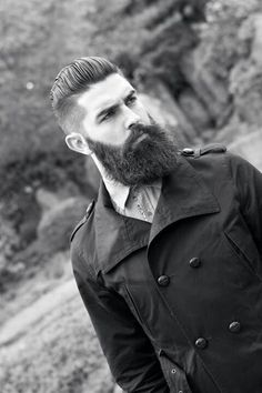 Get the point yet? Beards are stylish!