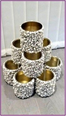 How to assemble flower tower – home decor diy – Garden Projects Diy Home Decor Projects, Diy Home Crafts, Diy Garden Decor, Garden Crafts, Garden Projects, Garden Art, Decor Crafts, Home Decoration, Crafty Projects