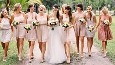 Bridesmaids trends that are no longer trending.