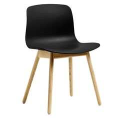 About A Chair by Hay combines a sleek oak frame with a streamlined polypropylene seat. A result of close collaboration between designer Hee Welling and HAY, About A Chair is a collection of outstanding simplicity and combinability.