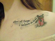 Moulin Rouge tattoo