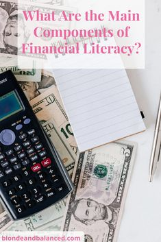 New to finance? Not sure where to begin? Start by learning these main components of financial literacy, and you will be well on your way! #financialadvice #financialliteracy #personalfinance #financialtips #finance101 #moneytips Loan Consolidation, Unsecured Loans, Short Term Loans, Borrow Money, Payday Loans, Car Loans, Student Loans, The Borrowers, Did You Know