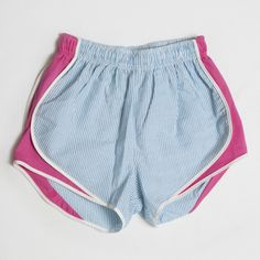 Lauren James Turquoise/Hot Pink Shorties available at southerncharmclothing.com
