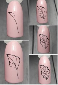 Nail Art Designs Videos, Nail Art Videos, Cute Nail Designs, Diy Nails, Cute Nails, Pretty Nails, Coffin Nails Glitter, Best Acrylic Nails, Nail Art Hacks