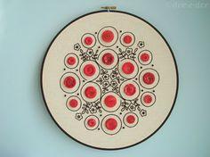 button hoop pattern