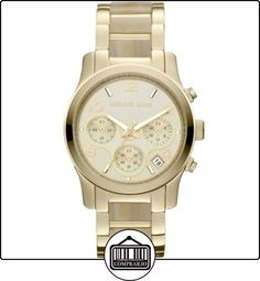 Michael Kors MK5660 - Reloj cronógrafo de cuarzo para mujer  ✿ Relojes para mujer - (Gama media/alta) ✿