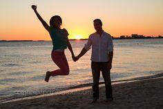 engagement photos with E&C Engagement Couple, Engagement Photos, Couple Beach, Sunset Photography, Beach Pictures, Photo Ideas, That Look, Couple Photos, Couples
