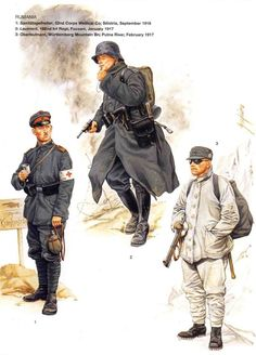 German soldiers on the Romanian front 1916