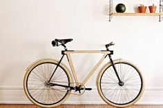 The WOOD.b is a new urban bicycle designed by Strasbourg-based BSG in partial collaboration with Thibaut Malet
