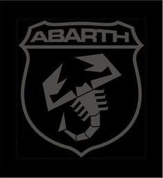 Abarth Logo Black