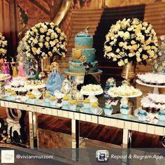 Cinderella 2015, Cinderella Princess, Birthday Decorations, Table Decorations, Bridal Shower, Disney, Iris, Shower Ideas, Party