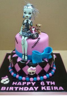 Frankie Stien cake-  my Keara loves Frankie stein too