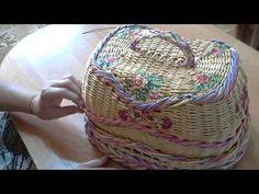 мк овальной хлебницы   с внутренней крышкой  часть 1 - YouTube
